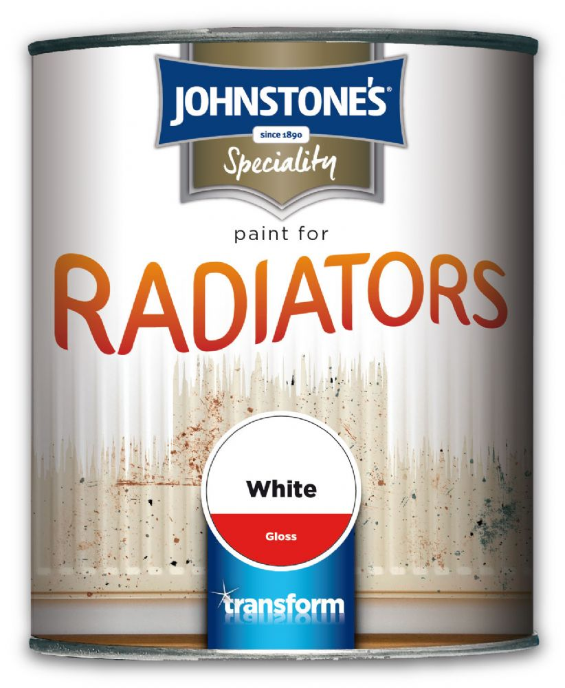 Johnstones Speciality Paint For Radiators White Gloss
